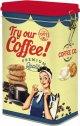 Easy Life Kaffee Aufbewahrungsdose 13x8x21 cm TOCO078