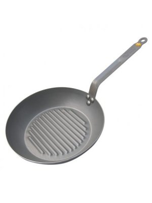 de Buyer Mineral B Element Eisen-Grillpfanne Induktion 26 cm