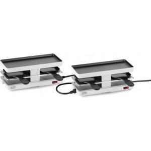 Stöckli Raclettegrill Twinboard Set weiss