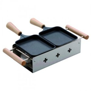 TTM Raclette Twiny Cheese Inox 100.029